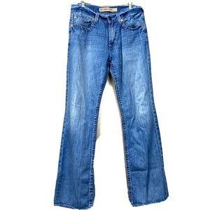 Big star pioneer bootcut denim jeans 34 long